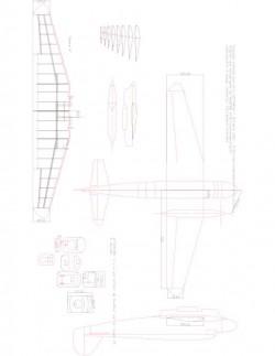 goeland Model 1 model airplane plan
