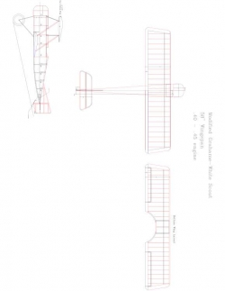 grahame Model 1 model airplane plan