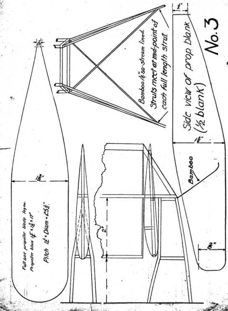 gslight3 model airplane plan