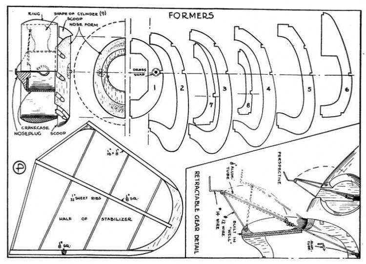 hawk p3 model airplane plan