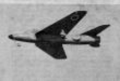 Hawker Hunter 1965 model airplane plan