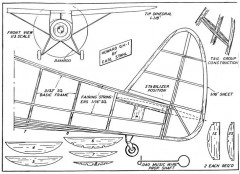 howardp2 model airplane plan