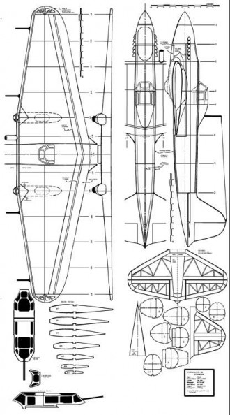 il2 model airplane plan