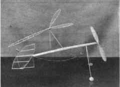 Indoor Autogiro. model airplane plan