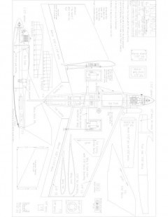 insomniac Model 1 model airplane plan