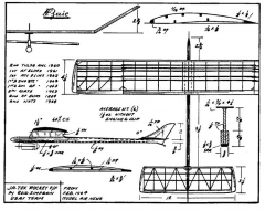 jatex rokcet model airplane plan