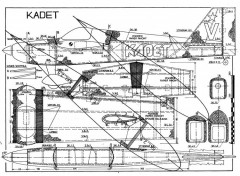 kadet model airplane plan