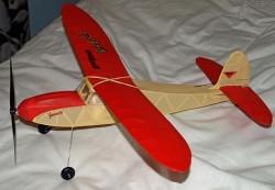 KK_eaglet model airplane plan