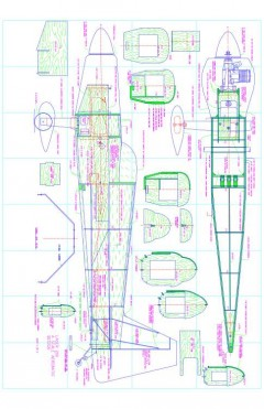 lasersheet1r13 Model 1 model airplane plan