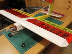 Limbo Dancer model airplane plan