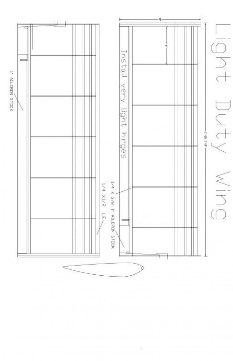 ltduty3 Model 1 model airplane plan
