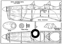 magp1 model airplane plan