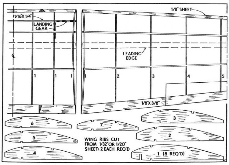 magp3 model airplane plan