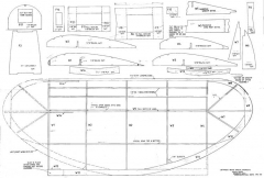 magpie sheet 2 model airplane plan