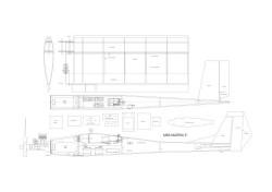 martha5 model airplane plan