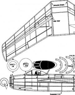 mig-15a model airplane plan