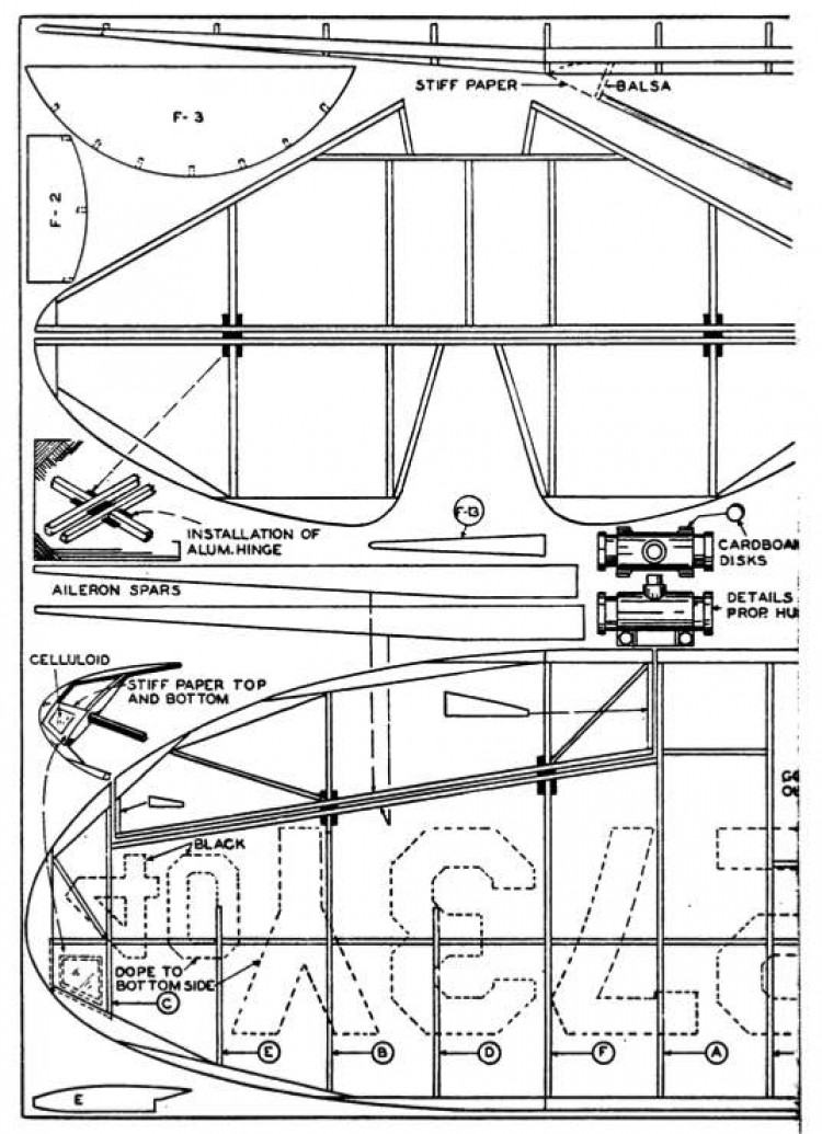 mulligan p1 model airplane plan