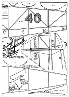 mulligan p4 model airplane plan