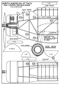 o47-p1 model airplane plan