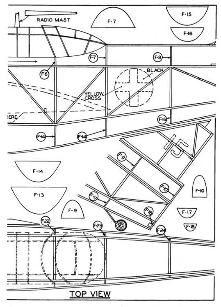 o47-p2 model airplane plan