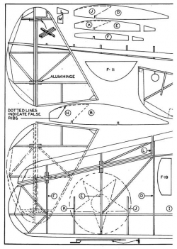 o47-p3 model airplane plan