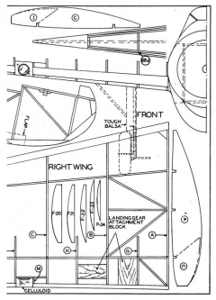o47-p4 model airplane plan