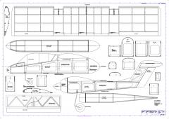 OV10 Bronco Model 1 model airplane plan