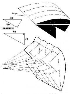 parafoi2 model airplane plan