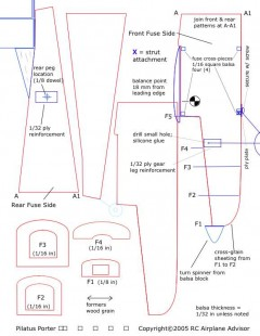 pilatus-porter-plans model airplane plan