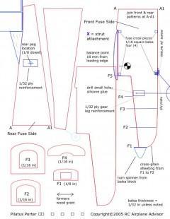 pilatus-porter-plans model airplane plan