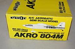 Akro 804M model airplane plan