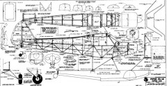 Piper PA18 Super Cub A model airplane plan
