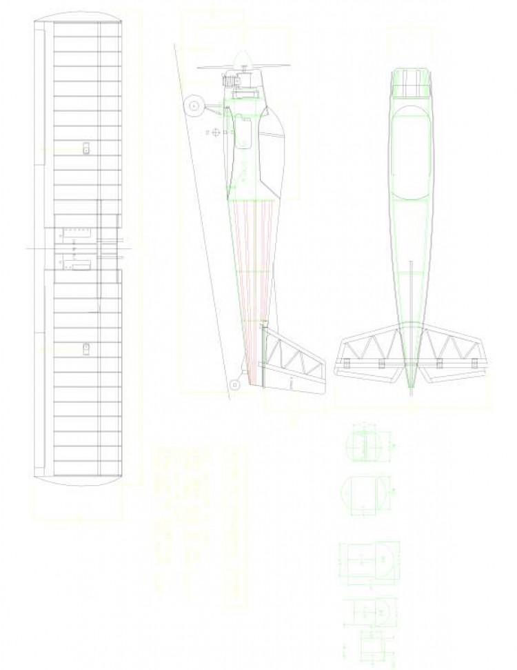 plane11 Model 1 model airplane plan