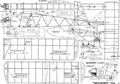plany wicherka model airplane plan