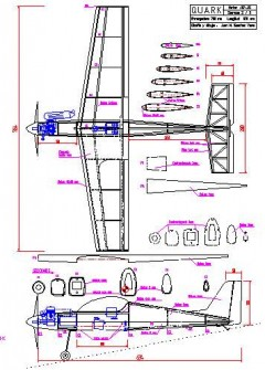 plaquark model airplane plan