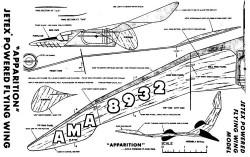 plnapparition model airplane plan
