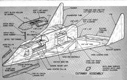 plndynasoar3a model airplane plan