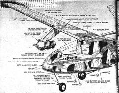 plnexecutive1 model airplane plan