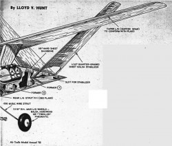 plnexecutive2 model airplane plan