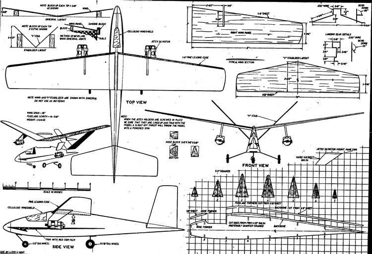 plnexecutive3 model airplane plan