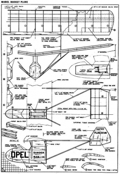plnopelRAK3 model airplane plan