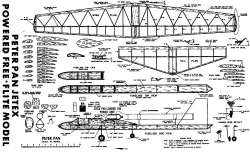 plnpeterpan model airplane plan