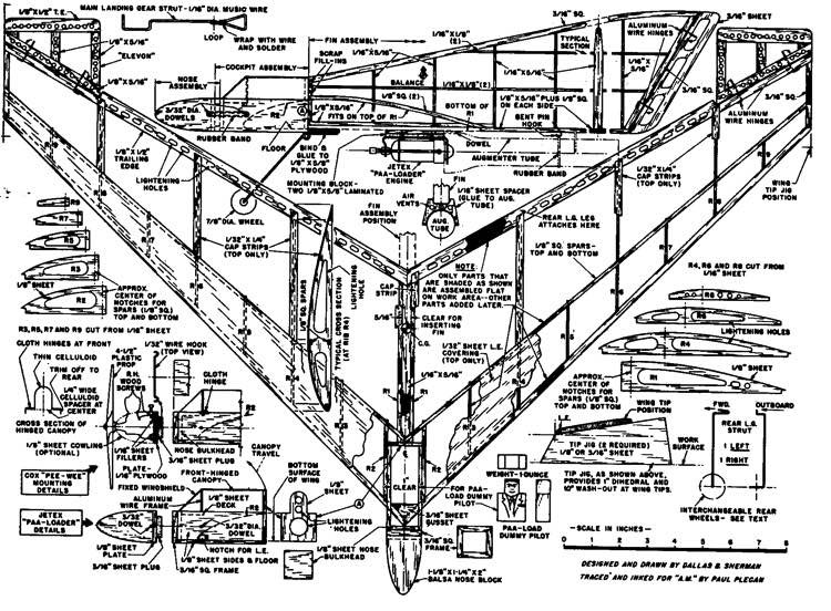 plnpolka model airplane plan