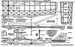 plnthrusty model airplane plan