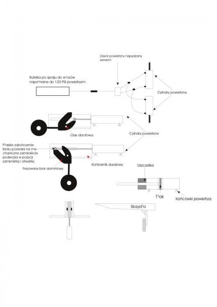 podwozie1 model airplane plan