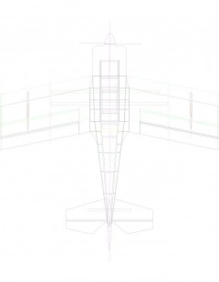 rd346b-01 Model 1 model airplane plan
