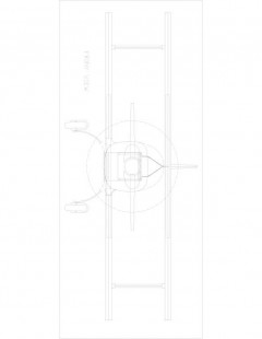 rd346b-1 Model 1 model airplane plan