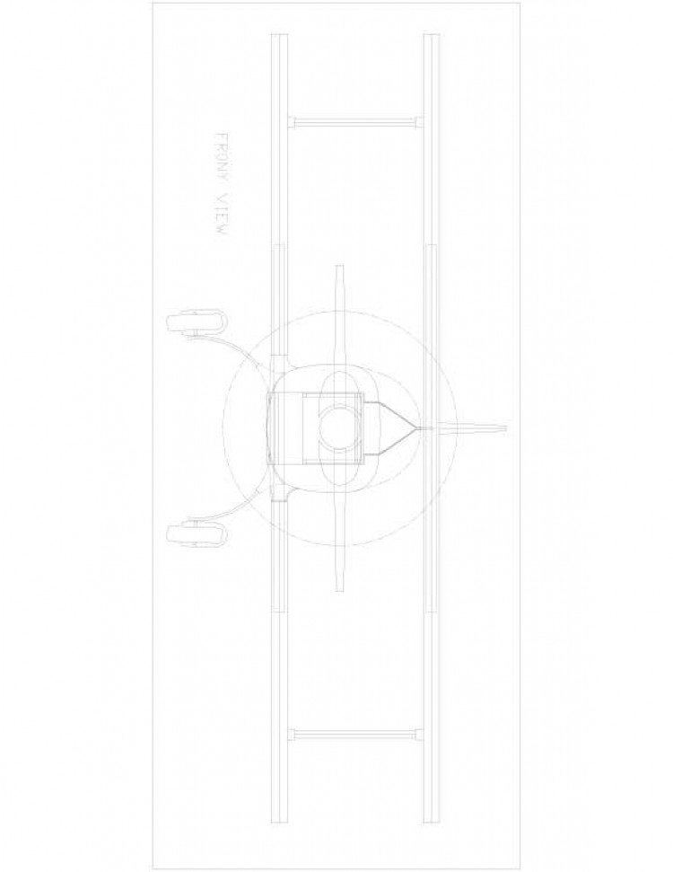 rd346b-1 Model 1 model airplane plan