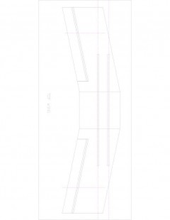 rd346b-2 Model 1 model airplane plan