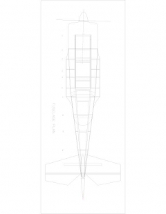 rd346b-5 Model 1 model airplane plan